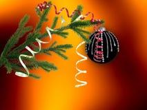 Papel pintado de la Navidad Imagen de archivo libre de regalías