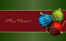 Papel pintado de la Navidad Fotografía de archivo