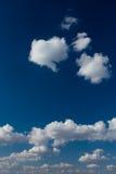 Papel pintado de la nube imagen de archivo libre de regalías