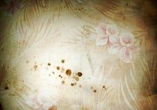 Papel pintado de la vendimia de Grunge Imagenes de archivo