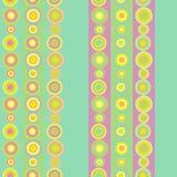 Papel pintado de los círculos ilustración del vector