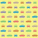 Papel pintado de los coches Imagen de archivo libre de regalías