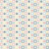 Papel pintado de los cuadrados Foto de archivo libre de regalías