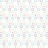 Papel pintado de los cuadrados Fotografía de archivo libre de regalías