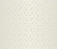 Papel pintado de lujo brillante nupcial, oro, brillante, boda del vintage, ilustración del vector
