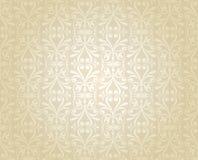 Papel pintado de lujo brillante nupcial, oro, brillante, boda del vintage, libre illustration