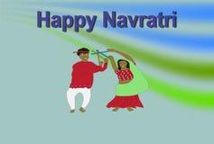 Papel pintado de Navratri imagenes de archivo