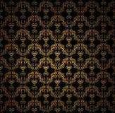 Papel pintado de oro Imágenes de archivo libres de regalías