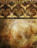 Papel pintado de oro Fotografía de archivo libre de regalías