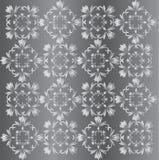 Papel pintado de plata Imágenes de archivo libres de regalías