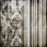 Papel pintado de plata Imagen de archivo libre de regalías