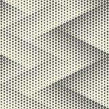 Papel pintado de semitono inconsútil Dots Graphic Design mínimo Foto de archivo