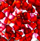 Papel pintado del caramelo del corazón Imagen de archivo