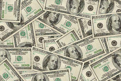 Papel pintado del dólar del dinero Imágenes de archivo libres de regalías