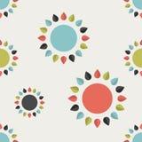Papel pintado del diseño floral Fotos de archivo libres de regalías