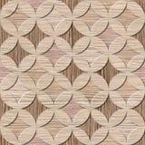 Papel pintado del diseño interior - textura de madera arruinada del surco del roble stock de ilustración