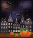 Papel pintado del feliz Halloween Fotos de archivo