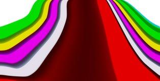 Papel pintado del fondo del color Foto de archivo