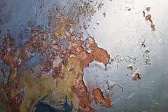 Papel pintado del metal Imagen de archivo libre de regalías