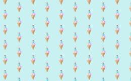 Papel pintado del modelo del helado Imágenes de archivo libres de regalías