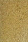 Papel pintado del oro Foto de archivo