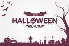 Papel pintado del partido de Halloween Imagenes de archivo