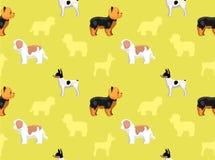 Papel pintado 9 del perro Imágenes de archivo libres de regalías
