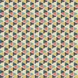 Papel pintado del triángulo del creyón Imagen de archivo