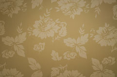 Papel pintado floral Imágenes de archivo libres de regalías