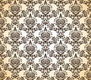 Papel pintado floral fotos de archivo