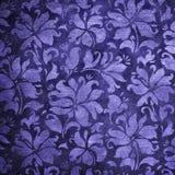 Papel pintado floral azul Fotos de archivo