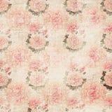 Papel pintado floral de Grunge Fotografía de archivo