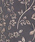 Papel pintado floral del metal Foto de archivo libre de regalías
