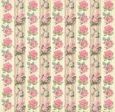 Papel pintado floral del vintage Imagen de archivo