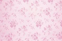 Papel pintado floral rosa claro fotos de archivo