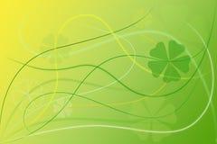 Papel pintado floral verde abstracto del fondo Libre Illustration