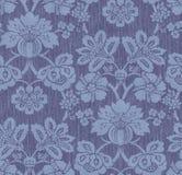 Papel pintado floral viejo Imagen de archivo