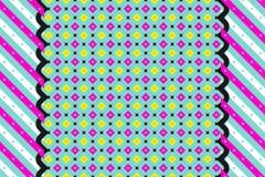 Papel pintado geométrico abstracto del modelo del vintage ilustración del vector