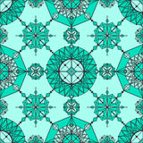 Papel pintado geométrico linear Foto de archivo