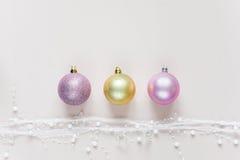 Papel pintado hermoso de la Navidad Fotografía de archivo libre de regalías
