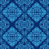 Papel pintado inconsútil azul. Foto de archivo