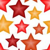 Papel pintado inconsútil con las estrellas 3d Imagen de archivo libre de regalías