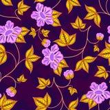 Papel pintado inconsútil de la flor Fotografía de archivo
