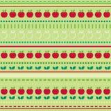 Papel pintado inconsútil de la fruta Fotos de archivo libres de regalías