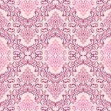 Papel pintado inconsútil del damasco en sombras del rosa Imagenes de archivo