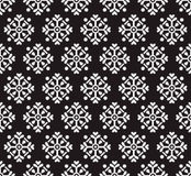 Papel pintado inconsútil negro Fotografía de archivo