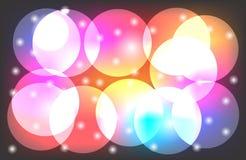 Papel pintado multicolor del fondo del vector abstracto ilustración del vector