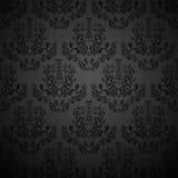 Papel pintado negro inconsútil. Foto de archivo libre de regalías