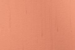 Papel pintado pintado estructural anaranjado Imagen de archivo libre de regalías