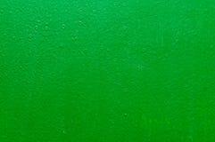 Papel pintado pintado estructural verde Fotografía de archivo libre de regalías